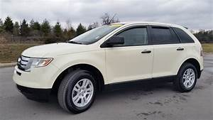 Sold 2007 Ford Edge Se Awd For Sale 105k Creme Brule 2 Owner New Tires Call 855