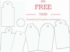 Free Printable Gift Tag Templates Projet52com