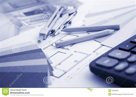 interior decorating tools residential interior design and tools royalty free stock image image 10540666