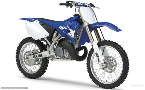 Download Wallpaper Yamaha, Motocross, Yz250, Yz250 2005