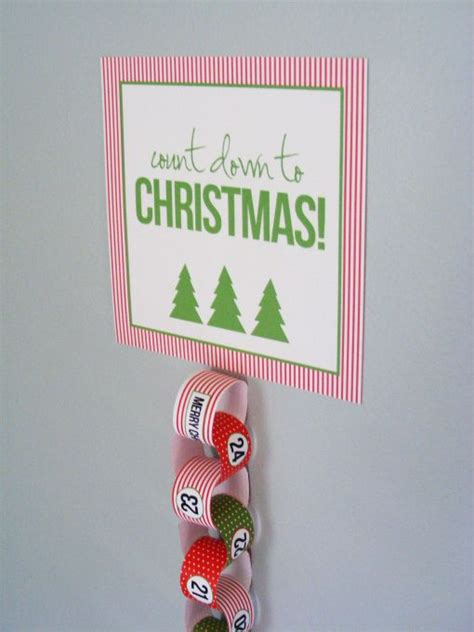 count down to christmas crafts pinterest