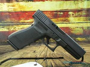 Glock Model 20 Gen 4 10mm Used 4 6 U0026quot  15 1 Black     For Sale