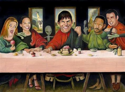Pop Culture Parodies Of The Last Supper Barnorama