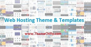 hosting templates themes themechilly
