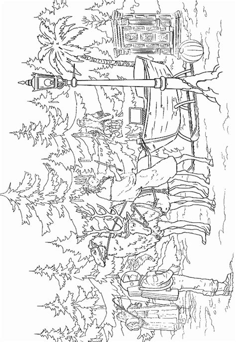 chronicles  narnia coloring pages
