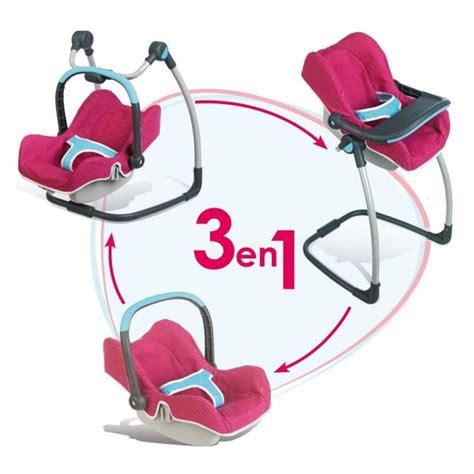 cosy chaise haute pour poupée bébé confort jeux