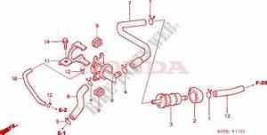 Air Injection Control Valve For Honda Cbr 125 2008   Honda