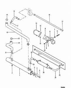 Heat Exchanger For Mercruiser  165 Hp - 3 7l    170 Hp    180 Hp   Lx    190 Hp  Engine