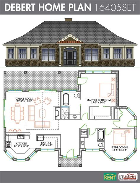 house plans with great kitchens 22 best images about ranch home plans on large