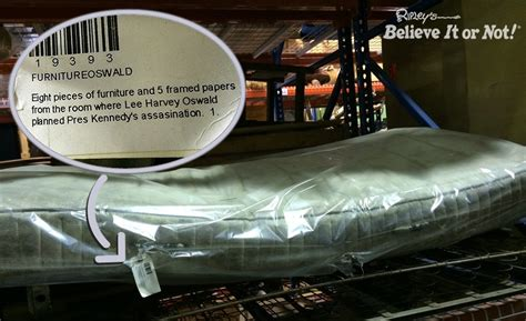 unboxing lee harvey oswald  kennedy assassination