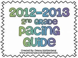 2nd Grade Pacing Map Example     Always Wondered About How To Pace Things  Nice To See An