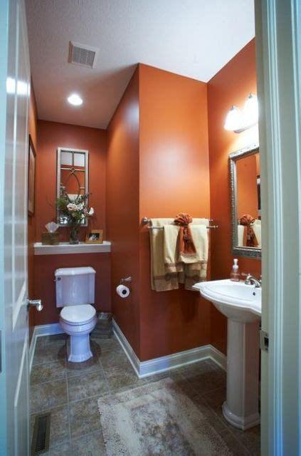 cool orange bathroom design ideas digsdigs