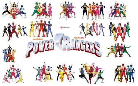 ranger list list of power rangers characters