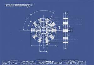Arc Reactor Blueprint By Markfinn Jpg  1024 U00d7711