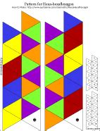 hexahexaflexagon template how to make a flexagon boxed set gifts to make s crafts