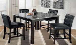 black dining room set discontinued ashley furniture ashley With black dining room furniture sets