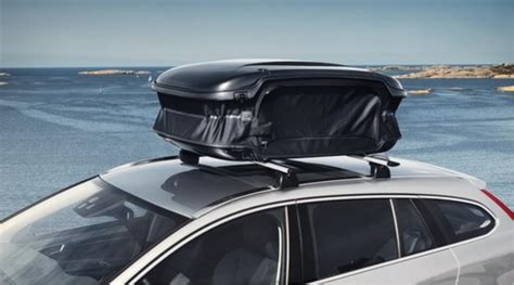 volvo  expandable roof box cargo box load
