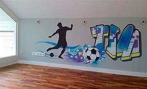 Kinderzimmer Fussball Deko