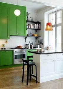 Küchenschränke Streichen Ideen : farbideen f r k che genie en sie die frische der gr nen farbnuancen ~ Eleganceandgraceweddings.com Haus und Dekorationen