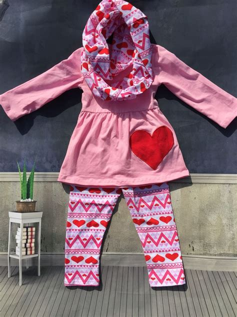 Aliexpress.com  Buy 2016 cute toddler V days girls baby kids Valentine clothes heart top pant ...