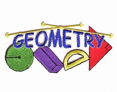 Geometry Clipart Word Math Apps Class Geometric