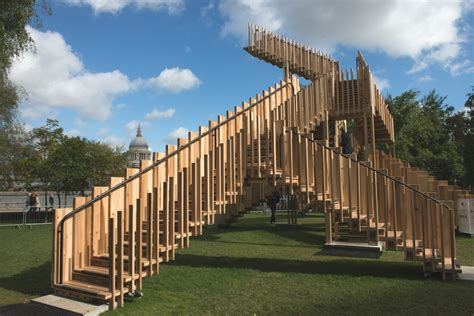 Staircase Furniture Design by London Design Festival Highlights Endless Stair Adelto