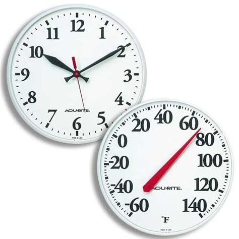 pool and patio clocks and thermometers