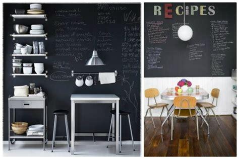 idee deco peinture cuisine le blackboard devient chalkboard