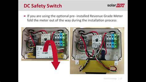 install solaredge inverter youtube