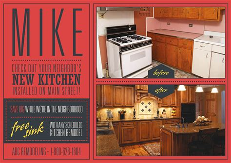 brilliant home remodeling contractor direct mail