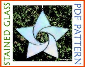 Easy Stained Glass Star Pattern