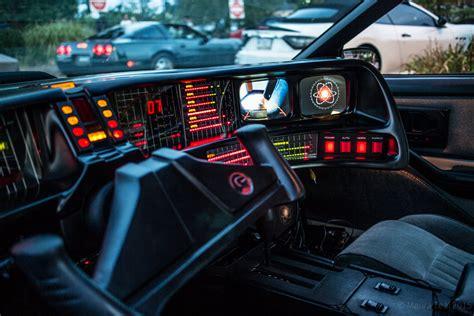 Knight Rider Kitt Interior
