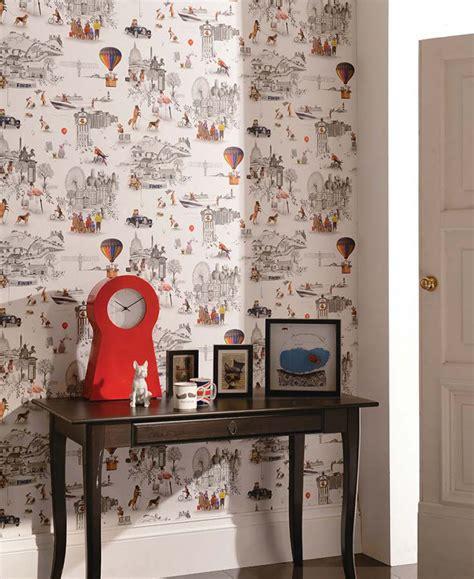 tendance cuisine du papier peint pour une chambre d 39 enfant frenchy fancy