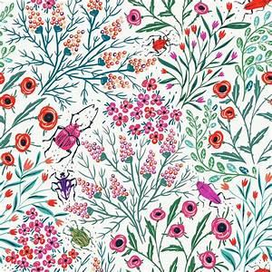 Summer pattern. background, art, cute, illustration ...