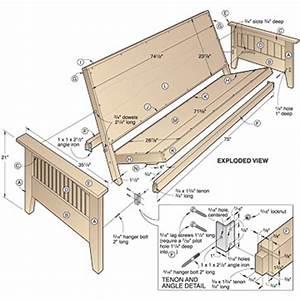 pdf diy wood futon bed frame plans download wood craft With diy sofa bed plans
