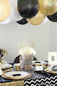 New Years Eve :: Golden Glam Dinner Party - Celebrations ...