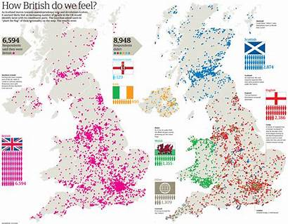 British Identity National Feel Map Britishness Question