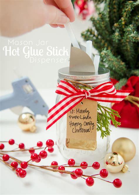 mason jar hot glue stick dispenser i heart nap time