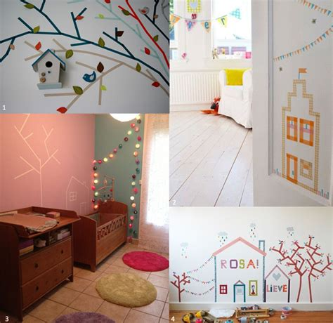 mur chambre bébé deco mur chambre bebe kirafes