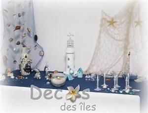 Mariage Theme Mer : d coration de mariage th me mer et nacre ~ Nature-et-papiers.com Idées de Décoration
