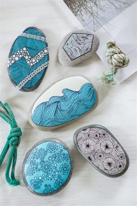 steine bemalen mit acrylfarbe steine bemalen handmade kultur