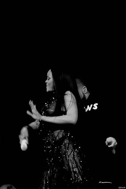 Rihanna Gifs Drake Tour Anti Grind Performing