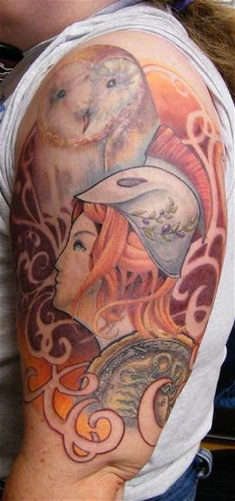 tattoo inspiration athena  sleeve tattoo uploaded