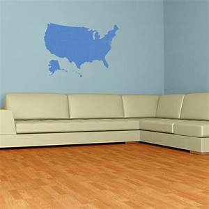 united states map wall decal wall decal world With awesome united states map wall decal