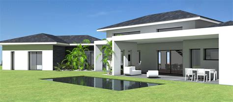 awesome constructeur maison contemporaine toit plat avec pasio contemporary yourmentor info