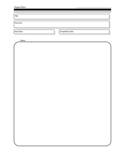 Templates For Projects by 48 Professional Project Plan Templates Excel Word Pdf