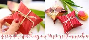 Papier Selber Machen : diy geschenkverpackung aus papier selber machen ~ Lizthompson.info Haus und Dekorationen
