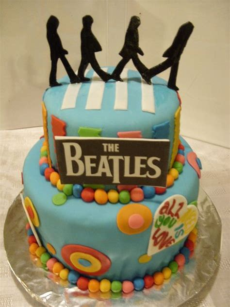 Best 20 Beatles Cake Ideas On Pinterest