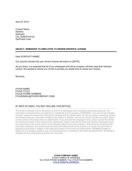 renew drivers license template amp sample form biztree car