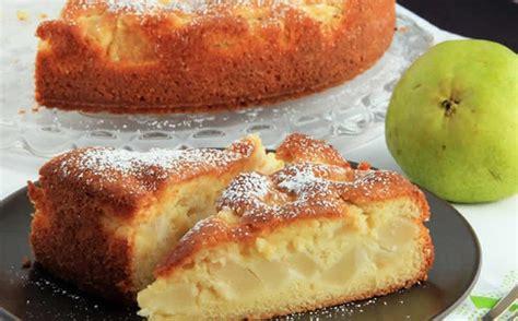 dessert avec poires fraiches g 226 teau fondant aux poires avec thermomix